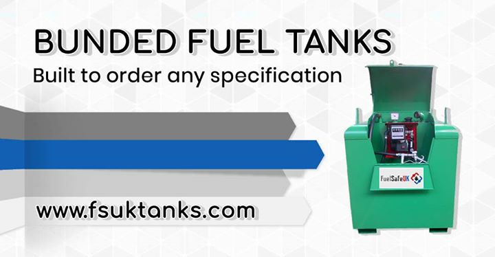 Leading UK Manufacturer of Fuel Storage Equipment Fully compliant tanks built to any specification…