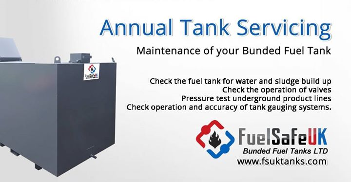 Maintenance of Bunded Fuel Tanks – It is necessary to service a bunded fuel…